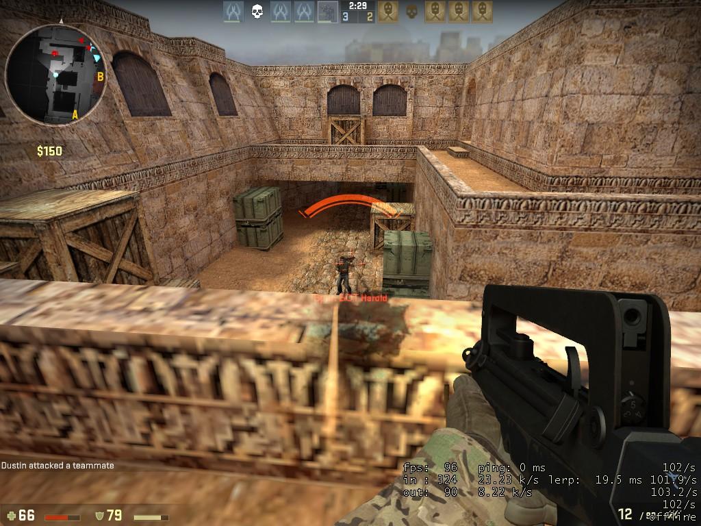 how to play dust 1 cs go